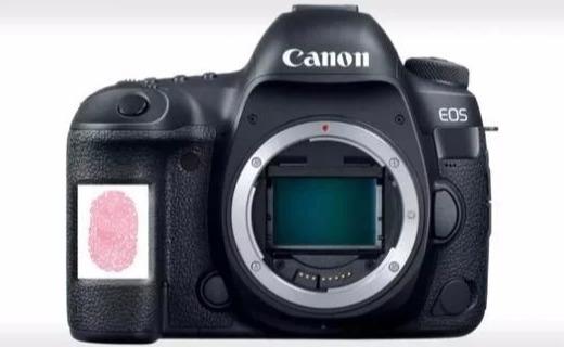 佳能新专利曝光,相机也有指纹识别了?