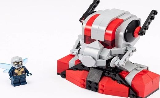 乐高发布新玩具:蚁人黄蜂女齐亮相