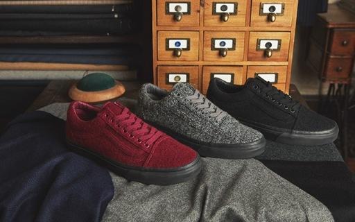 Size?與Vans獨家合作鞋款,羊毛材質更保暖