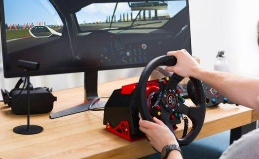 赛车游戏爱好者福音,平价直驱方向盘Feel VR来了