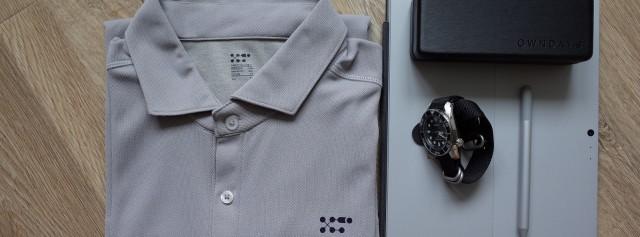 指纹传感器做的polo衫,竟然还能清凉防晒