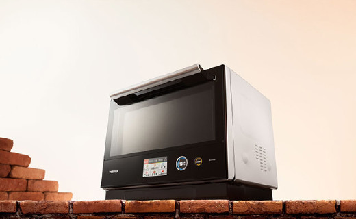 东芝新款水波炉,蒸箱烤箱微波炉一个全搞定