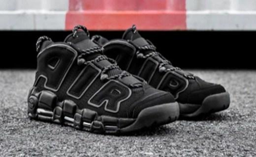 Nike Air再发酷黑配色,气垫王携时尚卷土重来