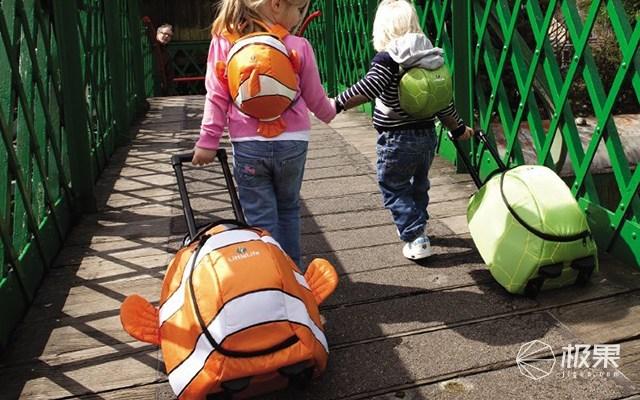 LittleLife动物造型儿童拉杆箱