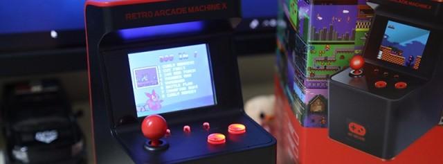怀旧童年,或许你需要一个My Arcade复古迷你街机