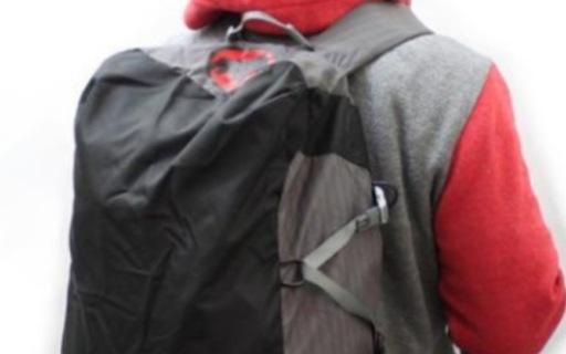 猛犸象多功能双肩背包:工学肩带设计,内置隔层背负轻便无束缚