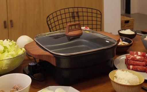 烹炒煎炸樣樣通,廚房小白也能化身烹飪大師 — 圈廚多功能家用電火鍋體驗 | 視頻