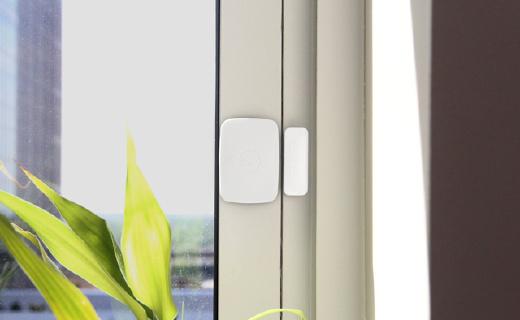 三星SmartThings门窗传感器:安装方便,APP远程查看,从此不担心忘关门