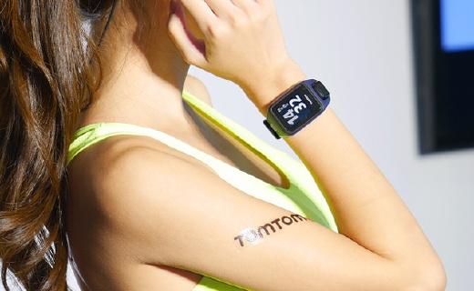 TomTom新款光电心率运动表,能听歌还带导航