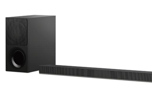 索尼电视配套音箱:无线低音单元,支持蓝牙连接