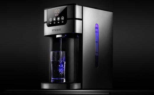韩国现代QC-KS3042热水壶:即烧即喝快捷方便,活性炭滤芯更健康