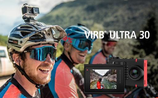 佳明新款运动相机,能拍4K,全面记录运动数据!