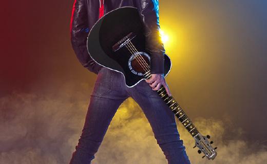 学吉他跟玩游戏一样简单,有它就能自学吉他