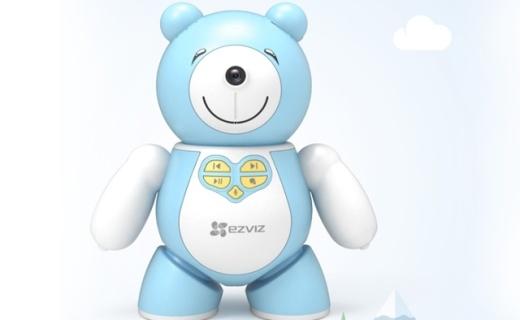 萤石发布新款儿童陪护机器人,看得见,能聊天,从小培养宝宝动手力