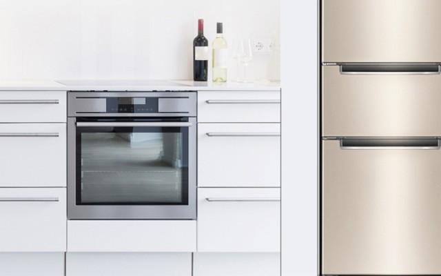 我家的第一款超薄冰箱:奥马三开门体验