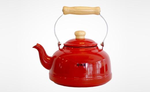Fujihoro水壶:搪瓷加工颜值高,烧出健康的饮用水