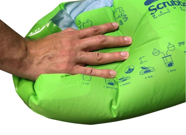 Scrubba便携式户外抗菌洗衣宝
