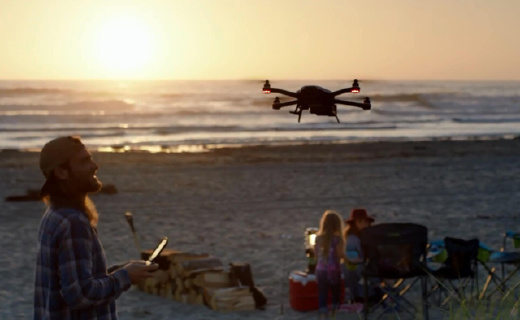 GoPro首款无人机,稳定支架可拆卸,玩法超多!