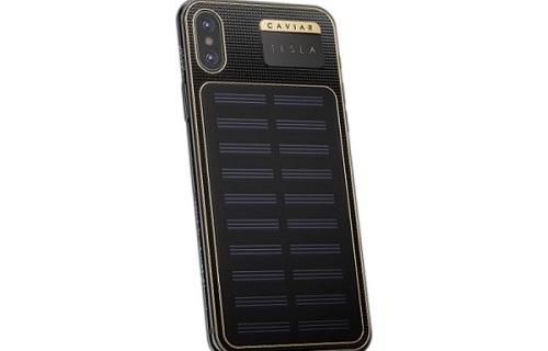 iPhone X Tesla联名?手机壳届Vertu诞生