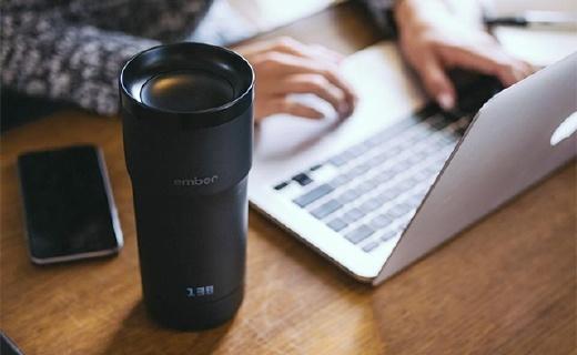 星巴克推荐的智能水杯,咖啡时刻保持最佳温度