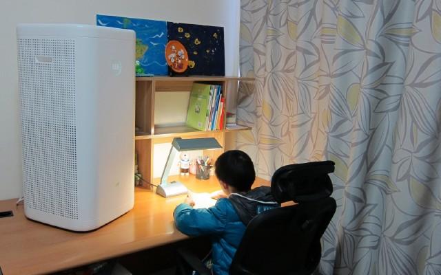 给孩子一片洁净的空间,畅呼吸智能空气净化器实测体验