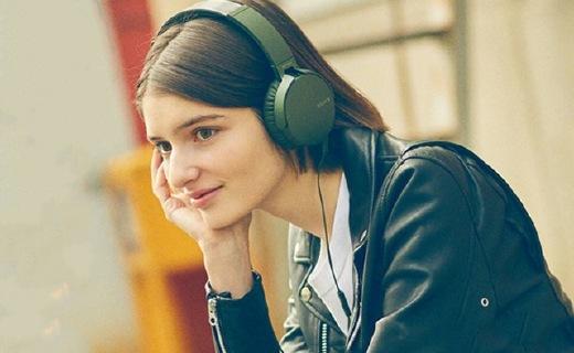索尼MDR-XB550AP耳机:仿佛置身live现场,佩戴舒适不压耳