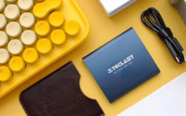 硬盘里的颜值与性能担当,台电S20移动固态硬盘体验