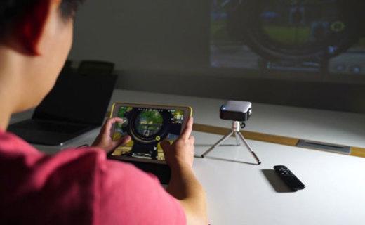 L-MIX掌上智能投影仪,可以揣进兜里的私人影院