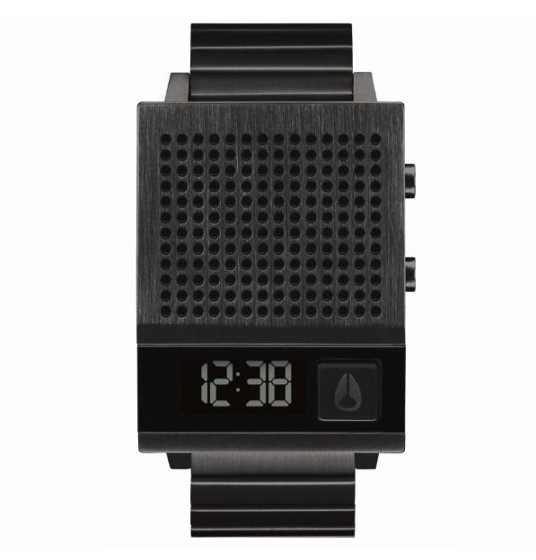 古典与现代科技结合!Nixon发布充电腕表,质朴设计再现复古风...