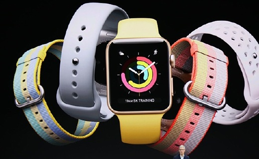 第3代苹果手表发布:脱离iPhone独立使用!