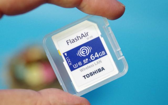 老机焕新生,无线传图更方便,东芝FlashAir无线存储卡测评