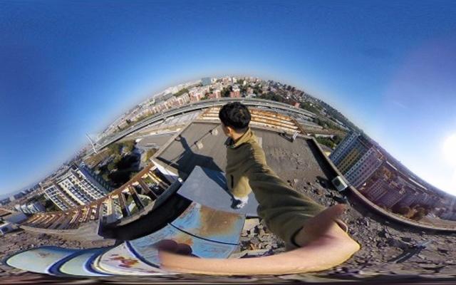 一键拍摄360°全景,拍摄内容也能搭配VR观看 — Insta360 Nano 全景相机体验   视频