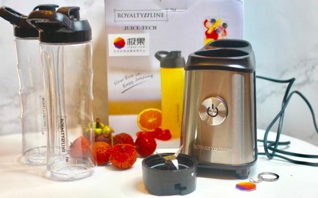 随时榨果汁,让果汁店倒闭的杯子,瑞士罗娅便携榨汁机体验