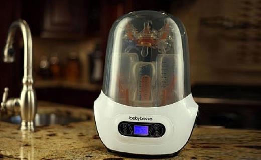 Baby Brezza奶瓶消毒机:消毒干燥一步解决,?#34892;?#38450;止二次污染