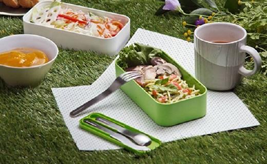Monbento便携餐具:选材优质又好用,外面吃饭方便还卫生