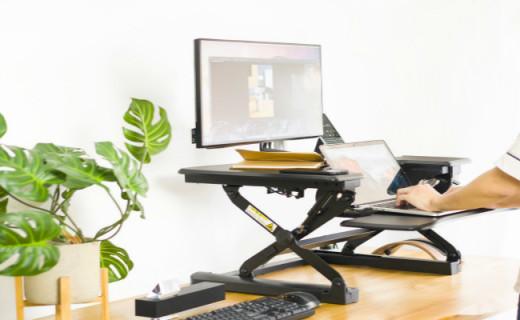 可升降桌面,让你办公不再腰酸痛,乐歌坐站交替M9升降台测评