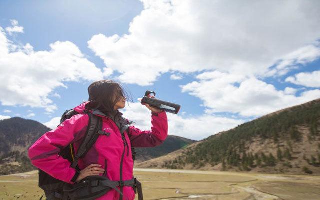 户外必备滤水神器,过滤超强尿都能喝