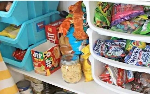 比7-11还有序的零食收纳法,囤再多零食也不怕