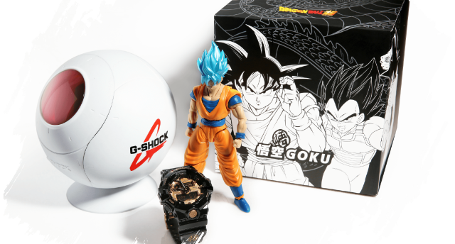 G-SHOCK×龙珠纪手表,人物专属图案,售价990元起