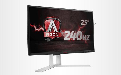 AOC新款电竞显示器,240Hz刷新率还防画面撕裂