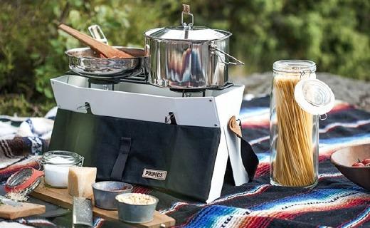 能装进背包里的火炉,带它去野餐超方便