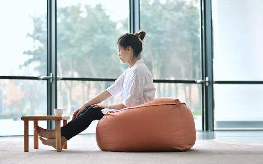 日式和风懒人沙发:无印良品同厂商,可坐可躺超舒适