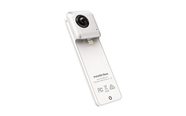 Insta36046171610Insta360DuallensCameraforiPhone,PearlWhite(Insta360Nano)