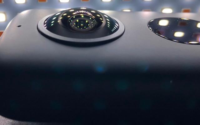 先拍摄后取景,360° VR运动相机拍摄体验