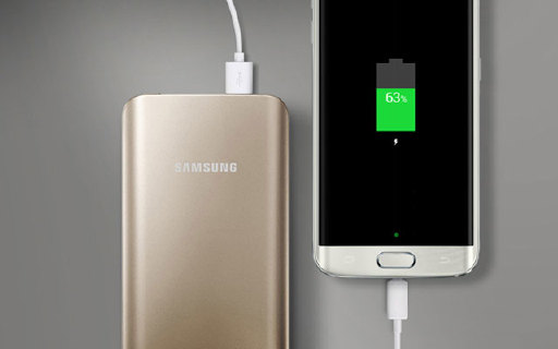 三星快充移动电源:金属外壳轻薄易携带,90分钟充满Note 5