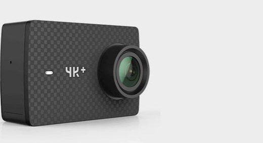小蚁 YI 4k+运动相机 :4K高清画质防水防抖,户外航拍潜水均可使用