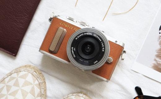 奥林巴斯E-PL8相机:1600万像素14种滤镜,触摸翻转屏方便自拍