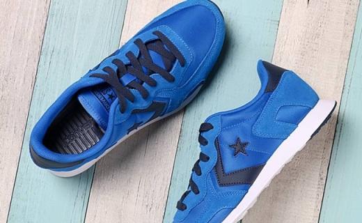 匡威Thunderbolt运动鞋:轻量舒适又贴合,撞色拼接动感十足