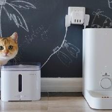 智能喂养,独自一猫也能好好吃饭-小佩智能喂食器mini
