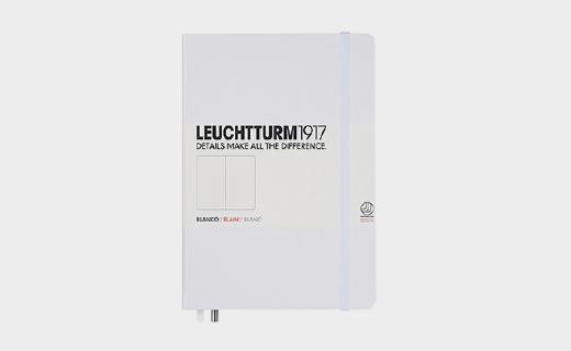 灯塔A5硬皮笔记本:德国高品质文具,纸张优质不洇墨